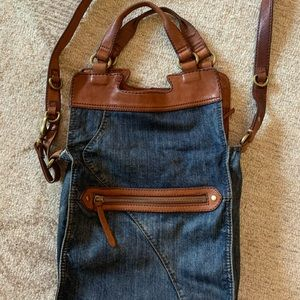 LUCKY BRAND DENIM PURSE